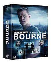LA COLECCION CLASIFICADA DE BOURNE 4 DVD + 1 DVD EXTRA NUEVO ( SIN ABRIR ) //