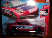 PORSCHE PANAMERA-POLIZEI - HOT WHEELS - SCALA 1/55