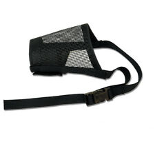 Best Fit Dog Mesh Muzzle Black Large