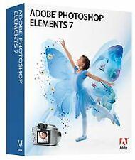 Adobe Photoshop Elements 7 WIN von Adobe   Software   Zustand gut