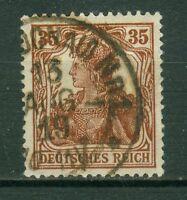 Deutsches Reich 103b , o , geprüft Infla