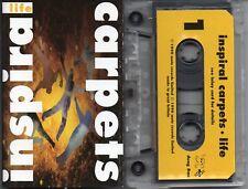 INSPIRAL CARPETS - LIFE CASSETTE TAPE 1990