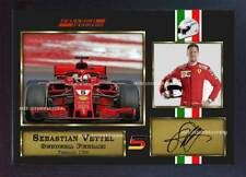 New 2018 Sebastian Vettel signed autograph print photo Australian GP Framed