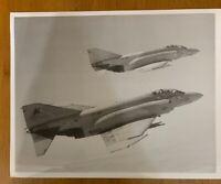 Official USN Photo of 2 F-4S Phantom II Aircraft in Flight VF-301 302 8/1/1984