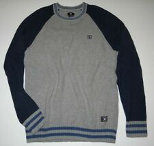 41611516b47c71 New DC Shoes Mens Wicker Raglan Long Sleeve Crew Knit Sweater Medium