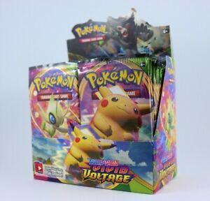 Pokemon - TCG - Vivid Voltage - Sword & Shield - Booster Pack. RARE & AUTHENTIC.