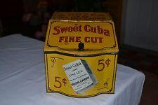 Sweet Cuba Tobacco Store Bin