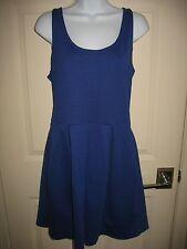 AEROPOSTALE DRESS Sz L Large Blue Dance Knee Length Juniors Womens