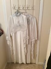 Angel robe,heavenly robe W/ halo,and wings C.Con for Universal studios$595UNISEX