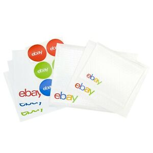New Bundle of Bubble Air Mailers, Poly Mailers and Stickers