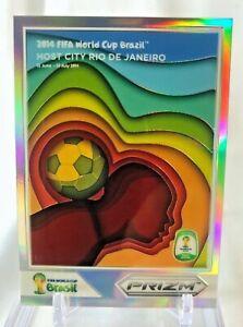 2014 Panini Prizm World Cup RIO DE JANEIRO Silver Holo Refractor #10