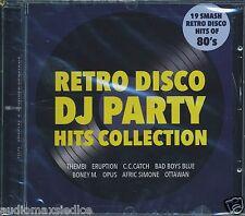 RETRO DISCO DJ PARTY HITS COLLECTION 80's [CD] Italo Disco