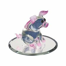 Glass Baron Pink Pig w/ Swarovski Elements