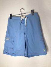 New listing Men's Polo by Ralph Lauren Cargo Swim Trunks Size Medium (M) Blue - Drawstring