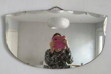 Art Deco Vintage Frameless bevelled Mirror