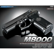 Academy M8000 BB Pistol Airsoft  6mm Shot Gun Military Kit# 17222