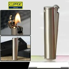No fuel CLIPPER gasoline kerosene & lighters, gift can be put into cigarette box
