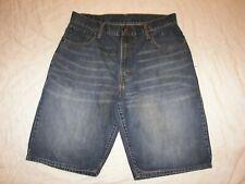 Men's Levi's 569 Denim Shorts - Size 34 - Loose Straight