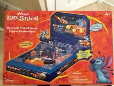 DISNEY Store Lilo and Stitch Electronic Pinball Game NEW SEALED Sounds, Lights