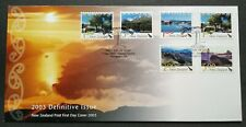 2003 New Zealand Definitive Issue Scenic Stamps FDC