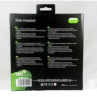 ORB Elite Headset - Black with 2.5mm jadapter compatible with Cisco IP phones &