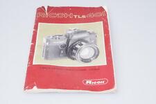 Bedienungsanleitung Manuals  für Ricoh TLS 401 Kamera  / B004