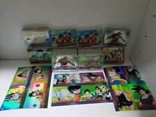6 lot of 2000 Dragonball Z Complete Perfect  Set of Silver & Holochrome card etc