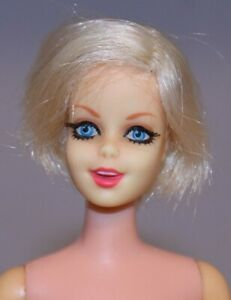 Vintage Barbie PLATINUM BLONDE TWIGGY Francie