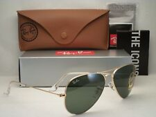 Ray Ban LARGE METAL (RB3025-L0205 58) Gold with Gray Green Lens