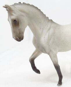 """Breyer Stablemate Horse Valegro Dapple Grey 2"""" At The Withers Dressage Champion"""
