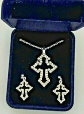 Montana Silversmith Western Rhinestone Jewelry Set New In Box