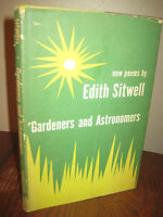 Gardeners and Astronomers Edith Sitwell New Poems 1st Edition First Print Poetry