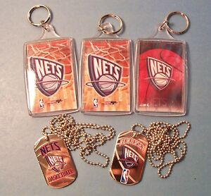 New Jersey NETS Tags, and Key Chains