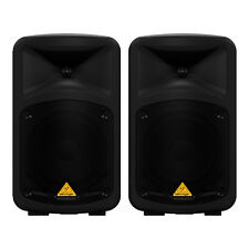 Behringer eps500mp3 Powered Pa sistema 500w 8 Canales Sonido Paquete Kit