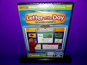 iLakeshore Interactive Whiteboard Software Letter Of The Day PC CD ROM NEW B507