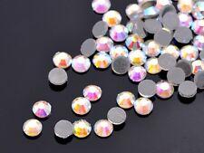 SS10 SS16 SS20 SS30 SS40 Hotfix Rhinestones Iron-on Flatback Crystal Glass DMC
