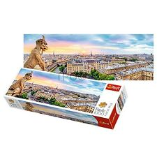 Trefl 1000 Piece Panorama View Notre Dam Paris Cathedral Jigsaw Puzzle Adult NEW