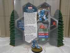 Heroscape Custom Taskmaster Double Sided Card & Figure w/ Sleeve Marvel