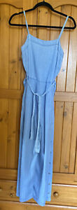 Grab Ladies  Light Blue Jumpsuit/play suit Wide Leg Bnwt Size 6 Bnwt