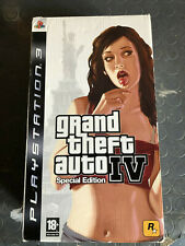 Grand Theft Auto 4 IV Special Edition Limited Collector SONY PS3 Playstation Ita