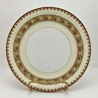 Vintage Meito China Asama Shape Bread & Butter Plate Gold Trim