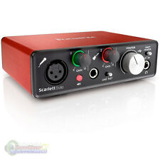 Focusrite Scarlett Solo USB Audio Recording Interface - w/ Pro Tools ( 2nd Gen)