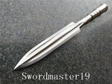 "13 3/4"" 35 cm Hanmade T8 Folded Steel Japanese Yari Spear Sharp Combat Ready"