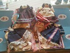 "4 Madame Alexander 16"" Little Women Holiday Dress Beth 18730 Jo Meg 18790 Amy"