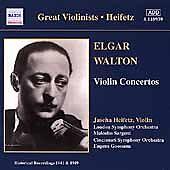 Heifetz Plays Walton (CD, Mar-2001, Naxos (Distributor))