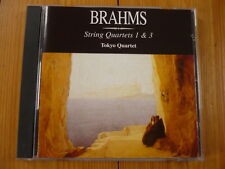 Brahms: String Quartets 1 & 3  Tokyo Quartet