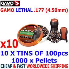 GAMO LETHAL .177 Airgun Pellets 10(tins)x100pcs NEW HUNTING PERFORMANCE