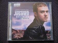 2 HDCD JUSTIN TIMBERLAKE - JUSTIFIED / taiwan edit / excellent état