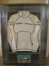 Rubens Barrichello Brawn GP Nomex top Framed 2009