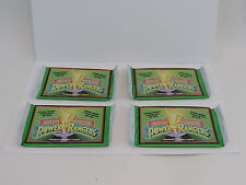 (4) LOT OF SEALED CARD PACKS - 1994 - POWER RANGERS TRADING CARDS -